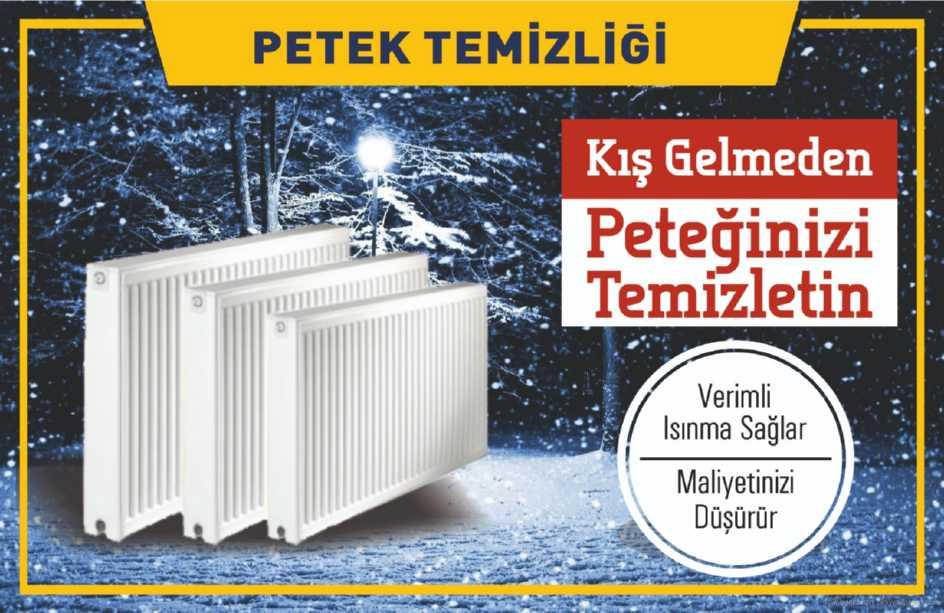 İstanbulda Kış erken gelebilir petek temizliği ve petek temizleme kampanyamızdan yararlanın