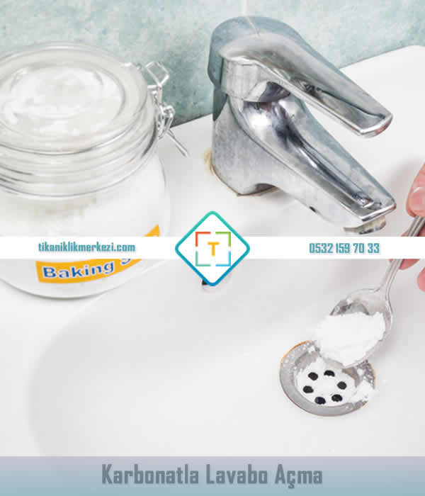 karbonatla lavabo açma yöntemleri