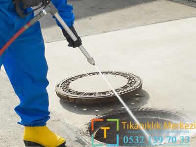basınçlı su ile logar temizleme